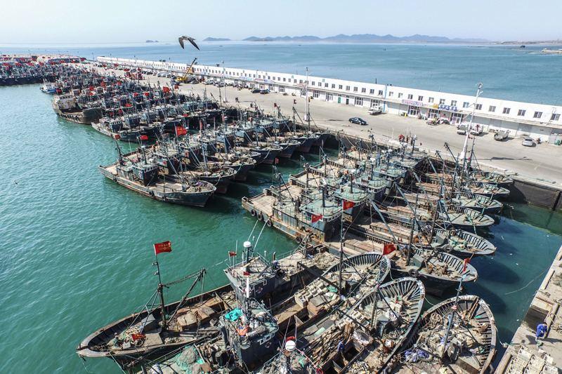 浙江宁海结束为期两月的休渔期